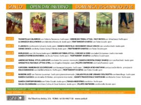Open Day Inverno 26/01/2014