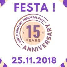 San Lo' 15 anni ✪ Festa!