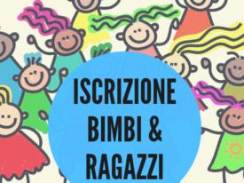 Iscrizione Bimbi & Ragazzi