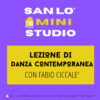 Mini-Studio • Lezione di Danza Contemporanea
